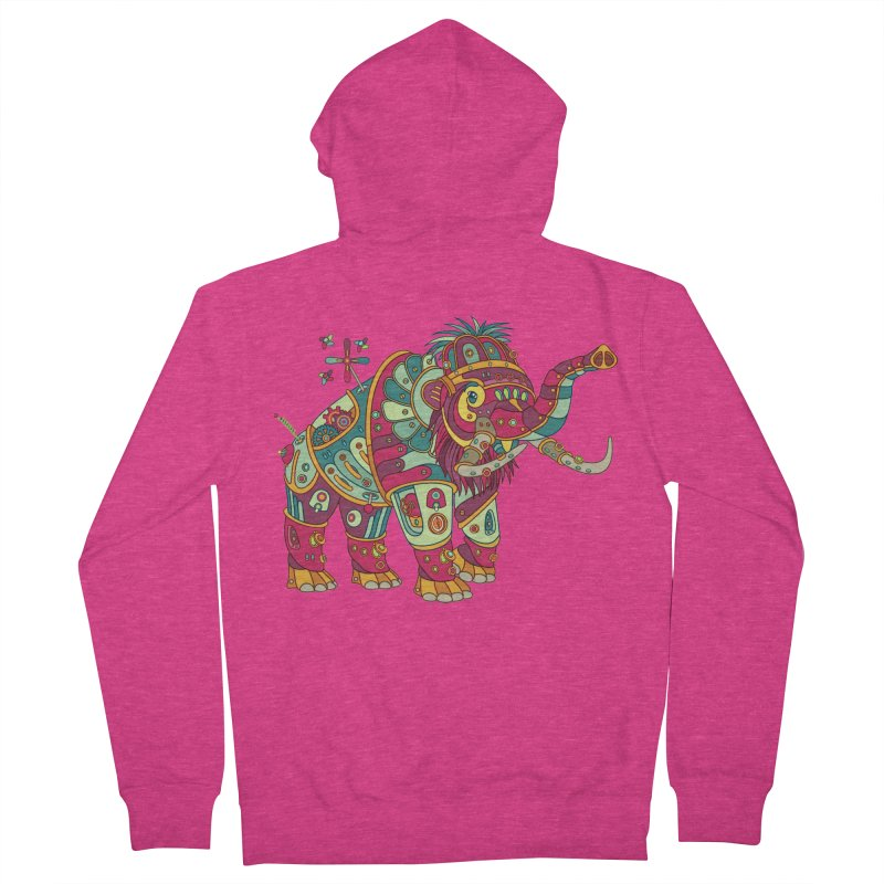 Mammoth, cool wall art for kids and adults alike Women's Zip-Up Hoody by AlphaPod