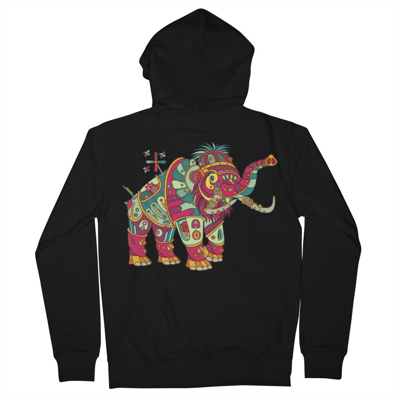 Mammoth, cool art from the AlphaPod Collection Women's Zip-Up Hoody by AlphaPod