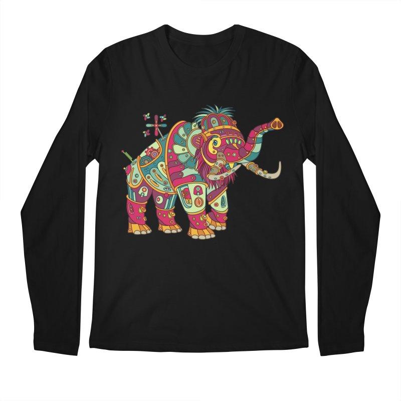 Mammoth, cool art from the AlphaPod Collection Men's Regular Longsleeve T-Shirt by AlphaPod