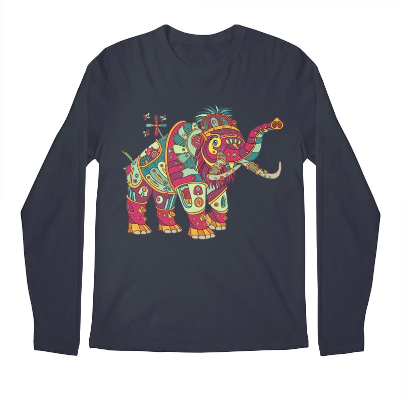 Mammoth, cool art from the AlphaPod Collection Men's Regular Longsleeve T-Shirt by AlphaPod
