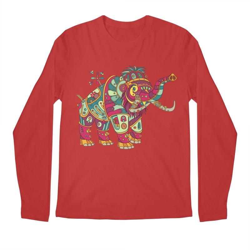 Mammoth, cool art from the AlphaPod Collection Men's Longsleeve T-Shirt by AlphaPod