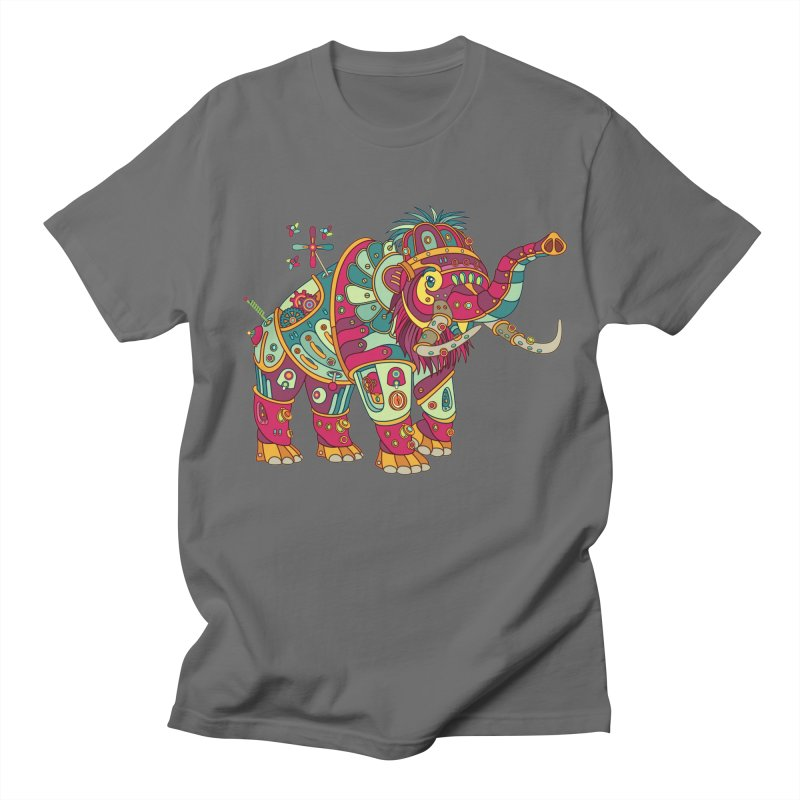 Mammoth, cool art from the AlphaPod Collection Men's Regular T-Shirt by AlphaPod