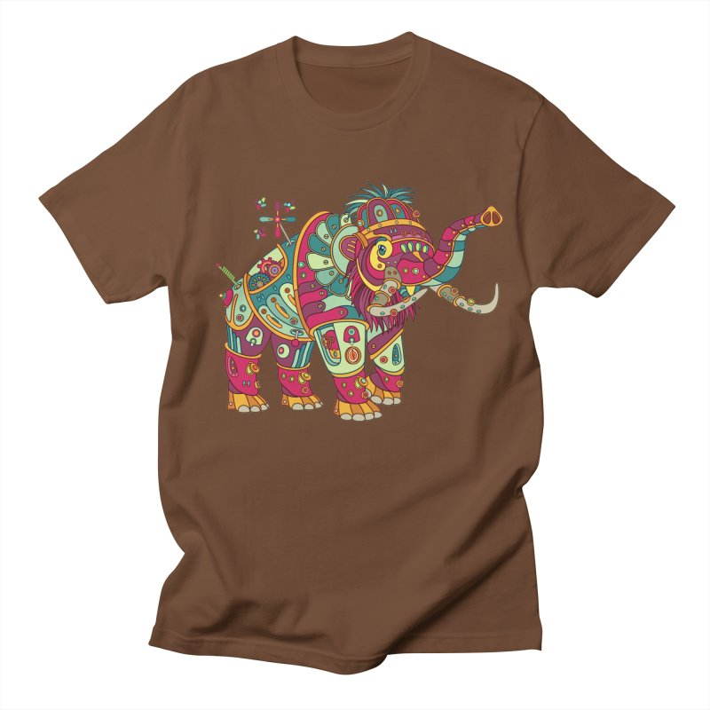 Mammoth, cool art from the AlphaPod Collection Women's Unisex T-Shirt by AlphaPod