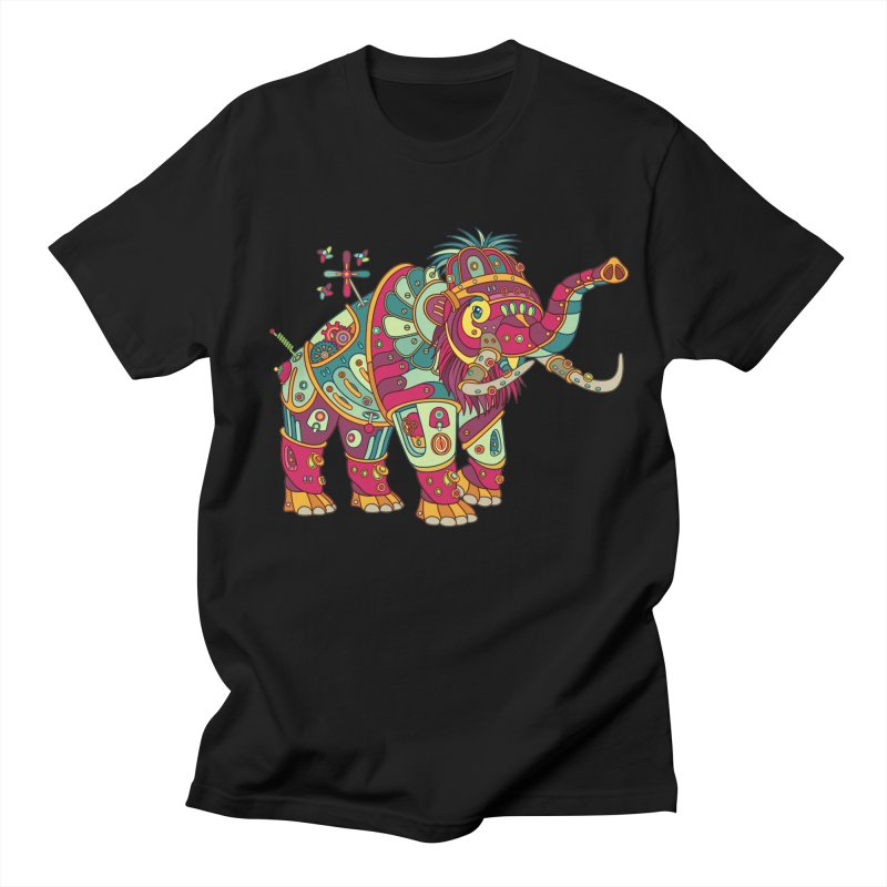 Mammoth, cool art from the AlphaPod Collection Women's Regular Unisex T-Shirt by AlphaPod