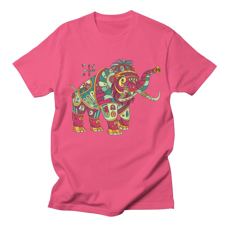 Mammoth, cool art from the AlphaPod Collection Men's Regular T-Shirt by AlphaPod