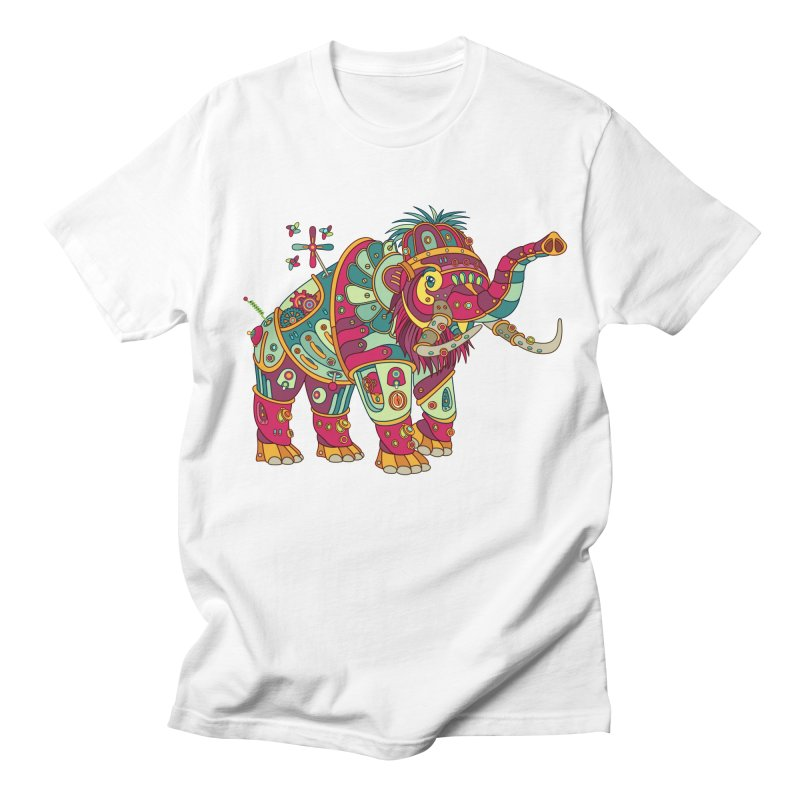 Mammoth, cool art from the AlphaPod Collection Women's Regular Unisex T-Shirt by AlphaPod