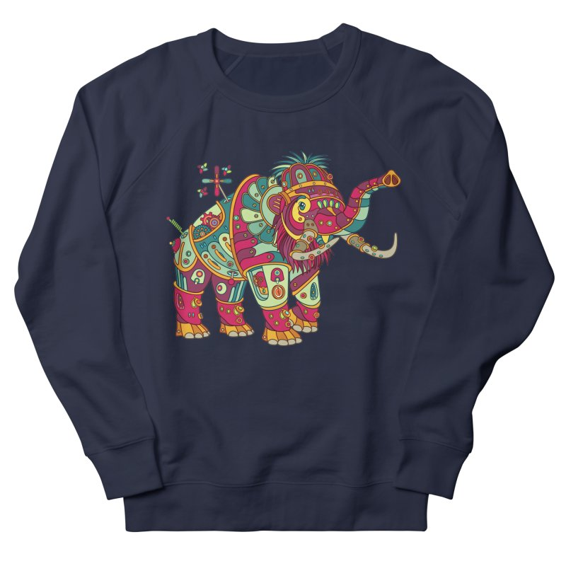Mammoth, cool art from the AlphaPod Collection Women's French Terry Sweatshirt by AlphaPod