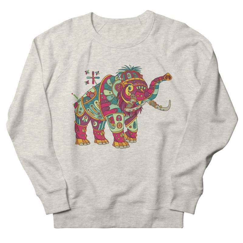 Mammoth, cool art from the AlphaPod Collection Men's French Terry Sweatshirt by AlphaPod