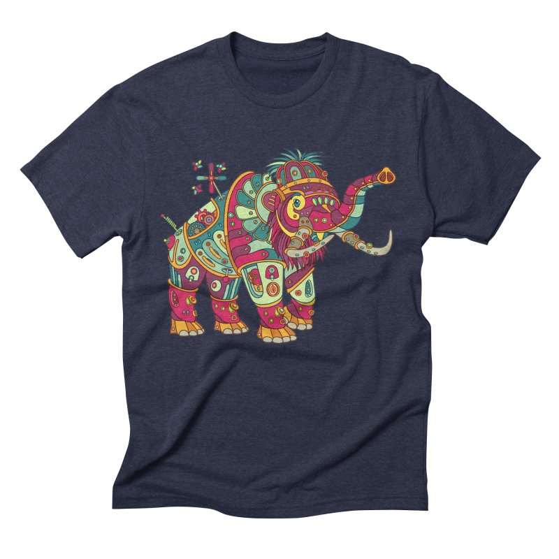 Mammoth, cool wall art for kids and adults alike Men's Triblend T-shirt by AlphaPod