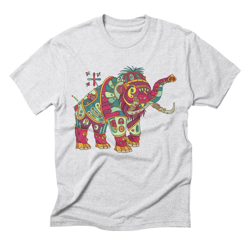 Mammoth, cool art from the AlphaPod Collection Men's Triblend T-Shirt by AlphaPod
