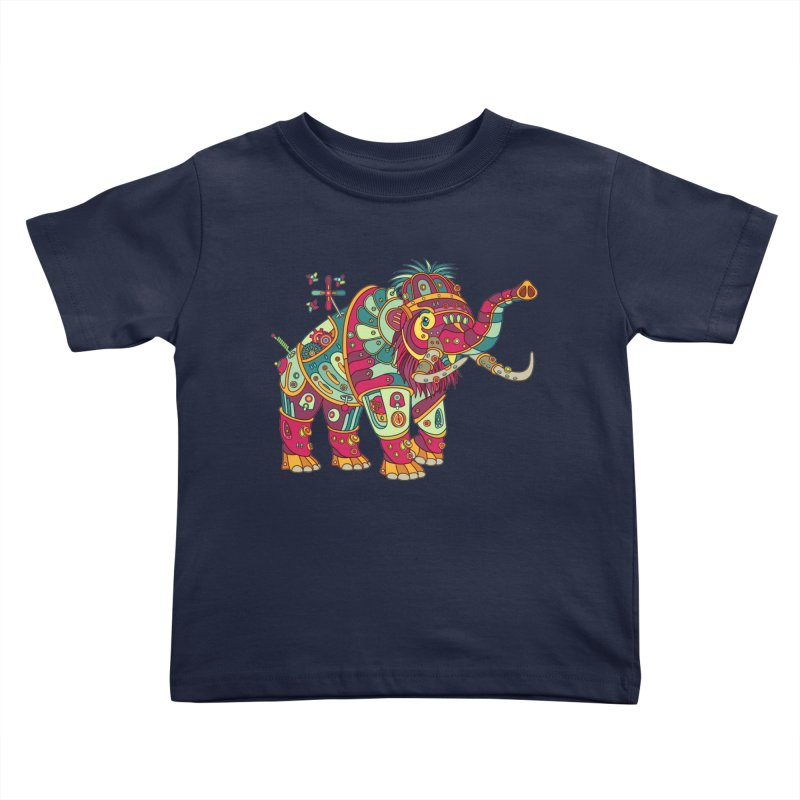 Mammoth, cool art from the AlphaPod Collection Kids Toddler T-Shirt by AlphaPod