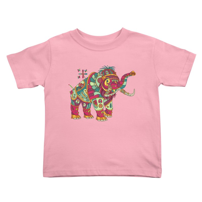 Mammoth, cool wall art for kids and adults alike Kids Toddler T-Shirt by AlphaPod