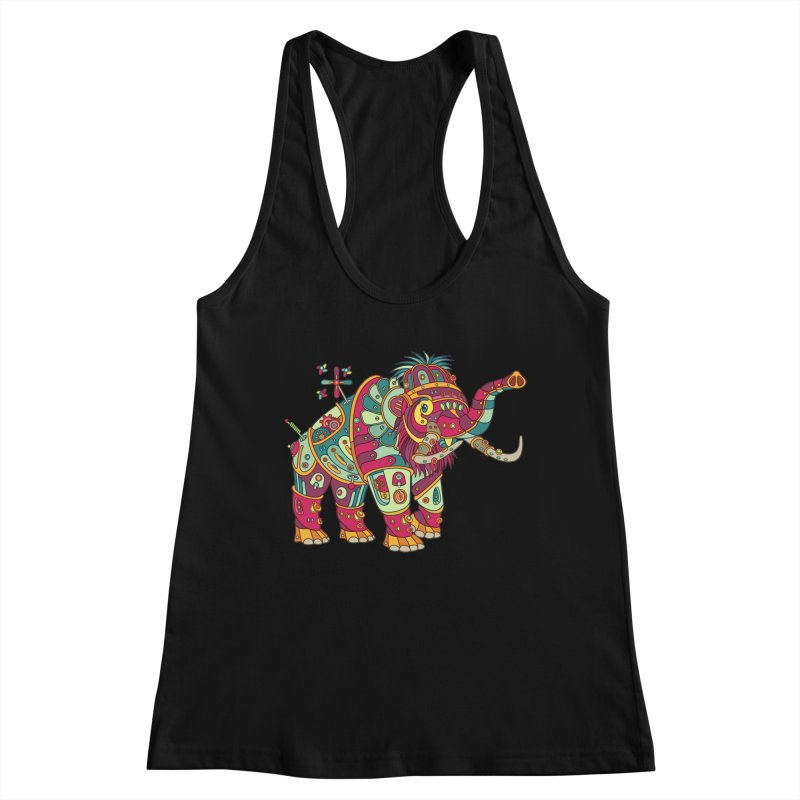 Mammoth, cool art from the AlphaPod Collection Women's Tank by AlphaPod