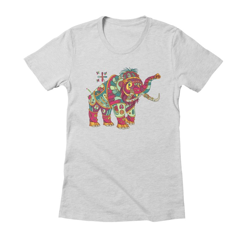 Mammoth, cool art from the AlphaPod Collection Women's T-Shirt by AlphaPod