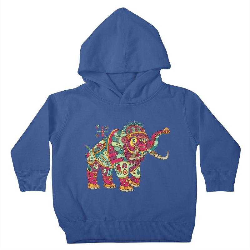 Mammoth, cool art from the AlphaPod Collection Kids Toddler Pullover Hoody by AlphaPod