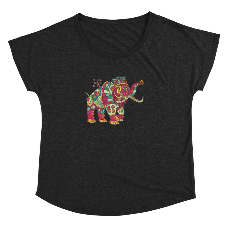 Mammoth, cool wall art for kids and adults alike Women's Dolman by AlphaPod