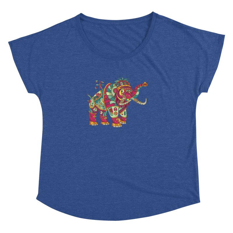 Mammoth, cool art from the AlphaPod Collection Women's Dolman by AlphaPod