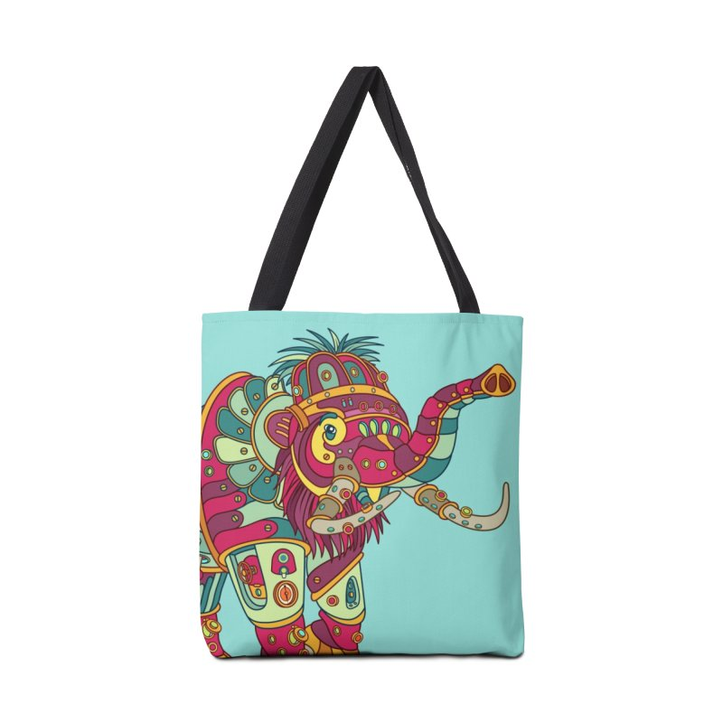 Mammoth, cool art from the AlphaPod Collection Accessories Bag by AlphaPod