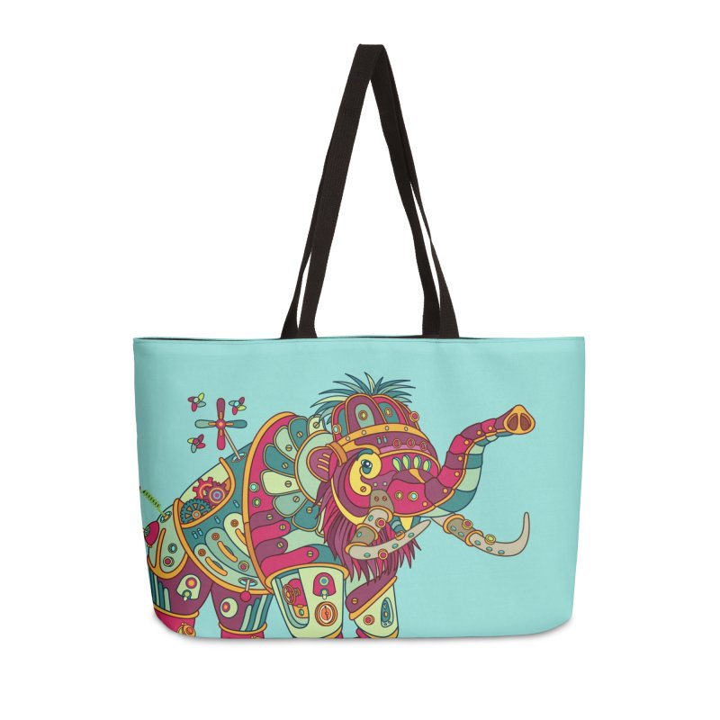 Mammoth, cool art from the AlphaPod Collection Accessories Weekender Bag Bag by AlphaPod