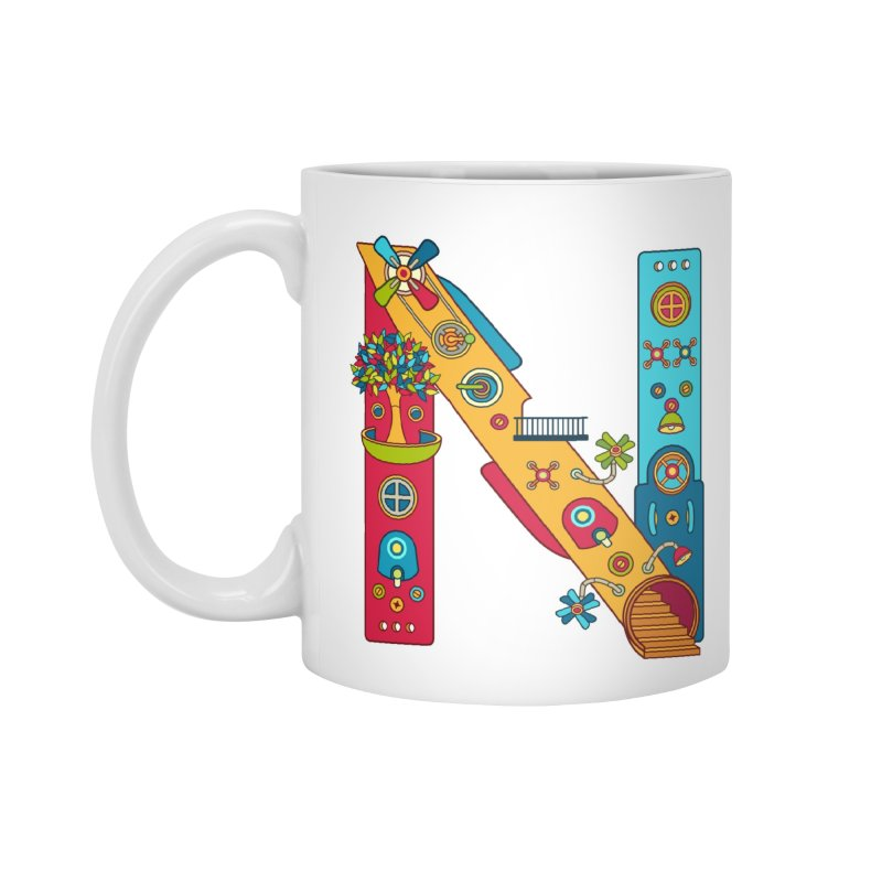 Narwhal, cool art from the AlphaPod Collection Accessories Mug by AlphaPod