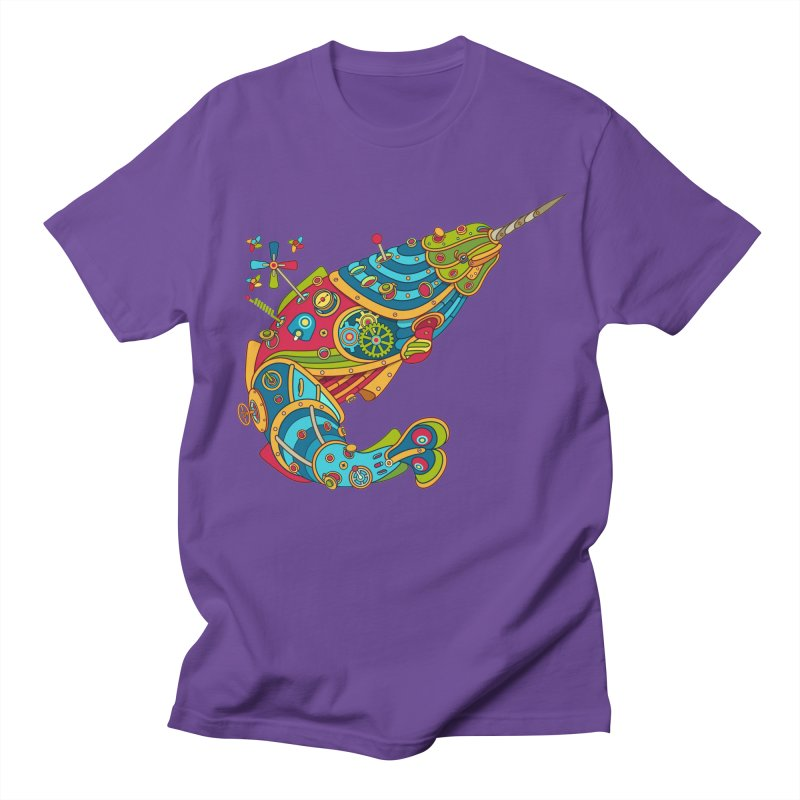Narwhal, cool art from the AlphaPod Collection Men's T-Shirt by AlphaPod