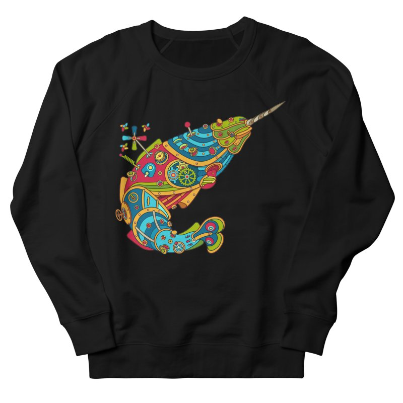 Narwhal, cool art from the AlphaPod Collection Men's Sweatshirt by AlphaPod