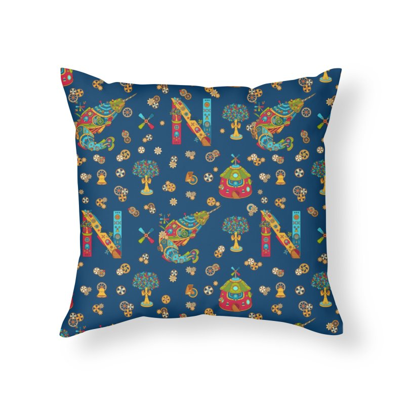 Narwhal, cool art from the AlphaPod Collection Home Throw Pillow by AlphaPod