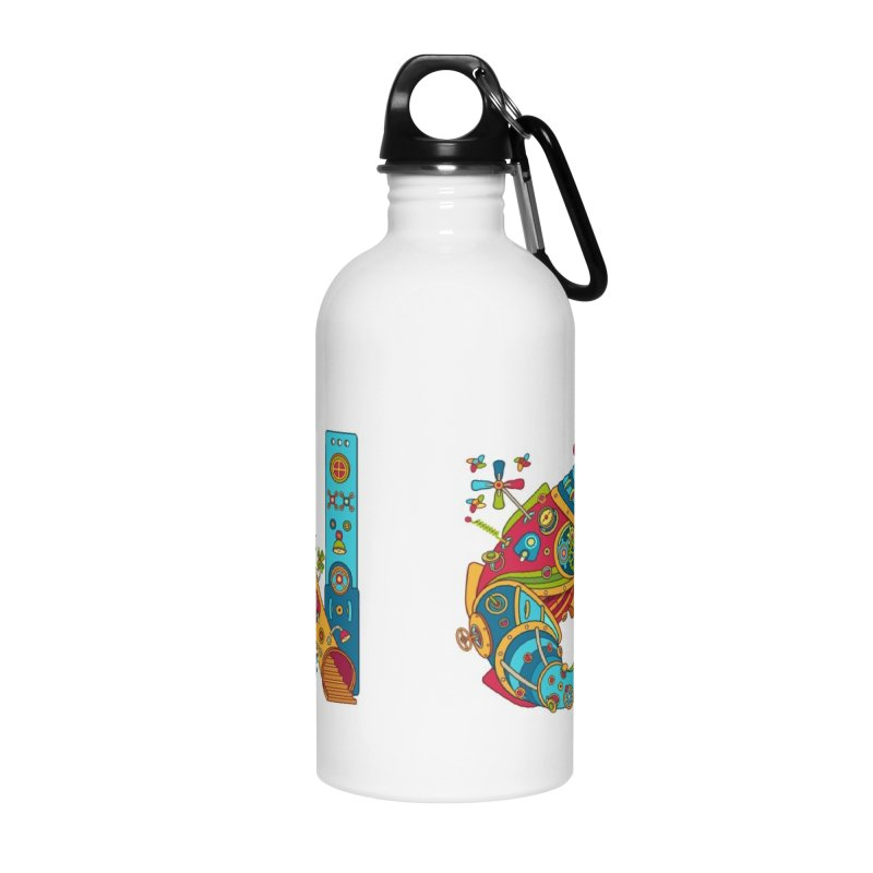 Narwhal, cool art from the AlphaPod Collection Accessories Water Bottle by AlphaPod