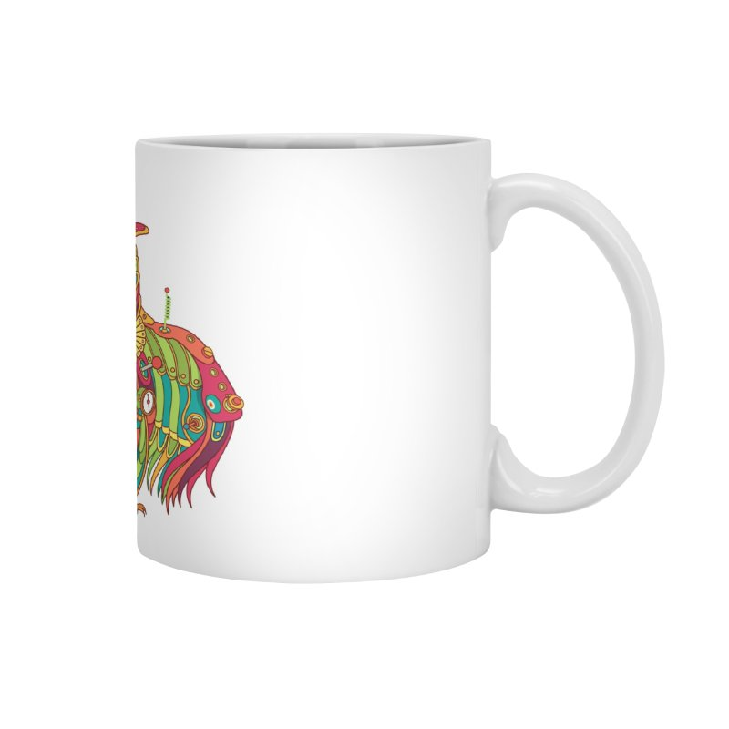 Owl, cool art from the AlphaPod Collection Accessories Mug by AlphaPod