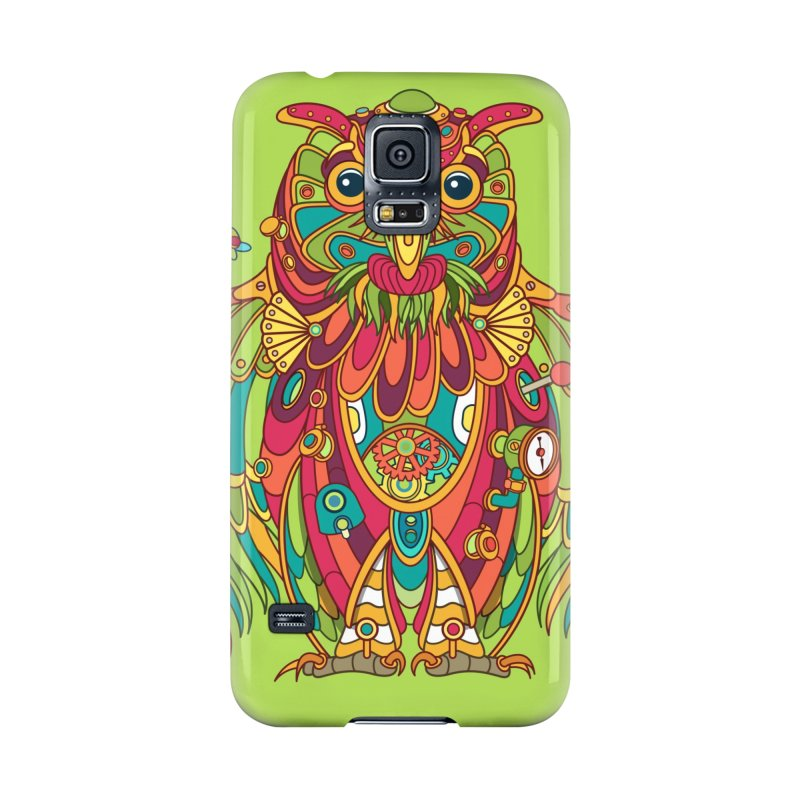 Owl, cool art from the AlphaPod Collection Accessories Phone Case by AlphaPod