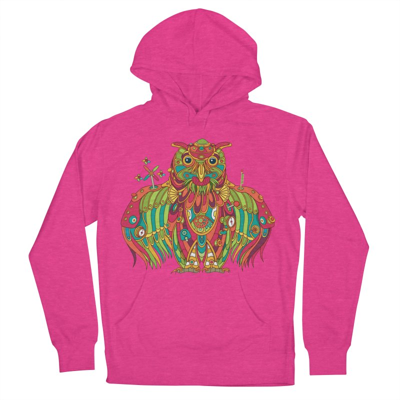 Owl, cool art from the AlphaPod Collection Women's Pullover Hoody by AlphaPod