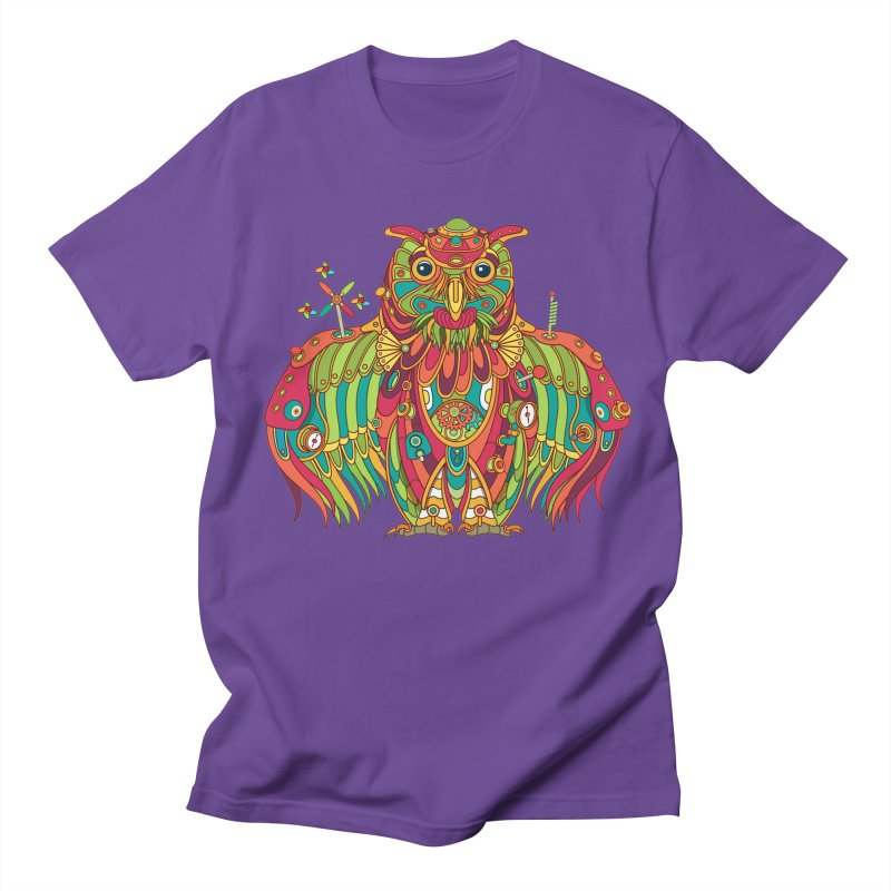 Owl, cool art from the AlphaPod Collection Men's T-Shirt by AlphaPod