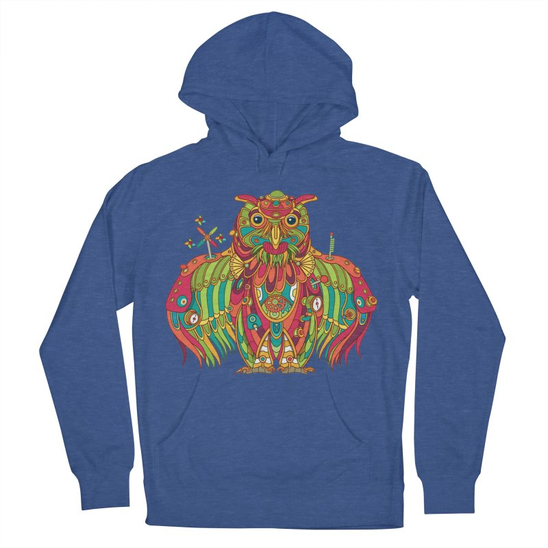 Owl, cool art from the AlphaPod Collection Men's Pullover Hoody by AlphaPod