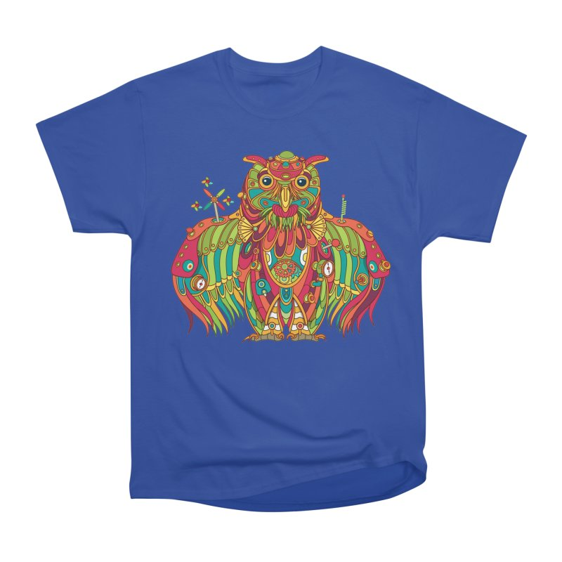 Owl, cool art from the AlphaPod Collection Men's Heavyweight T-Shirt by AlphaPod