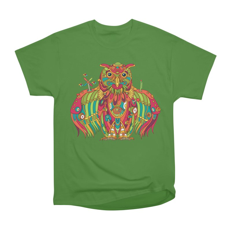 Owl, cool art from the AlphaPod Collection Women's Classic Unisex T-Shirt by AlphaPod