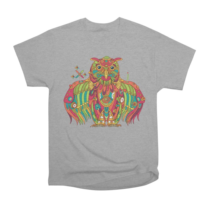 Owl, cool art from the AlphaPod Collection Men's Classic T-Shirt by AlphaPod