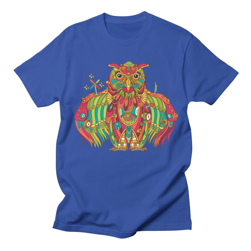 Owl, cool art from the AlphaPod Collection Women's Unisex T-Shirt by AlphaPod