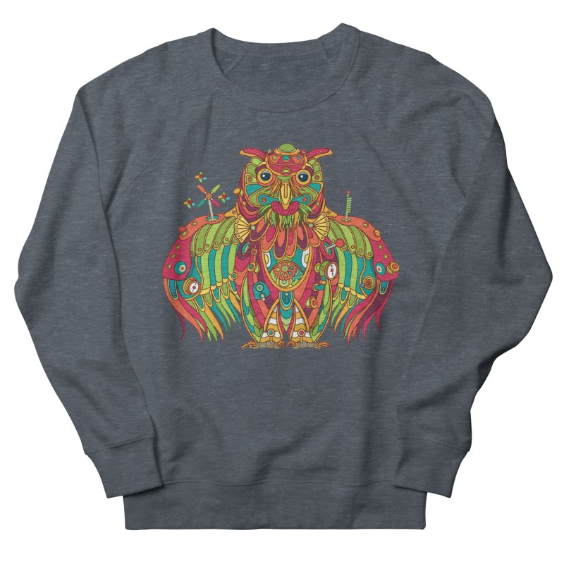 Owl, cool art from the AlphaPod Collection Women's Sweatshirt by AlphaPod