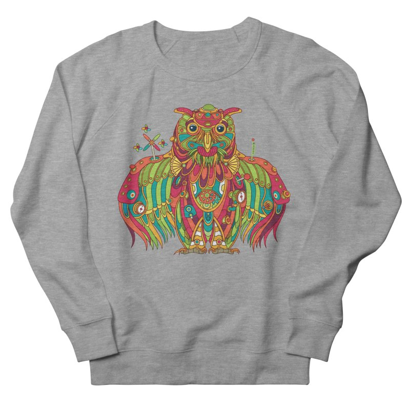 Owl, cool art from the AlphaPod Collection Men's Sweatshirt by AlphaPod