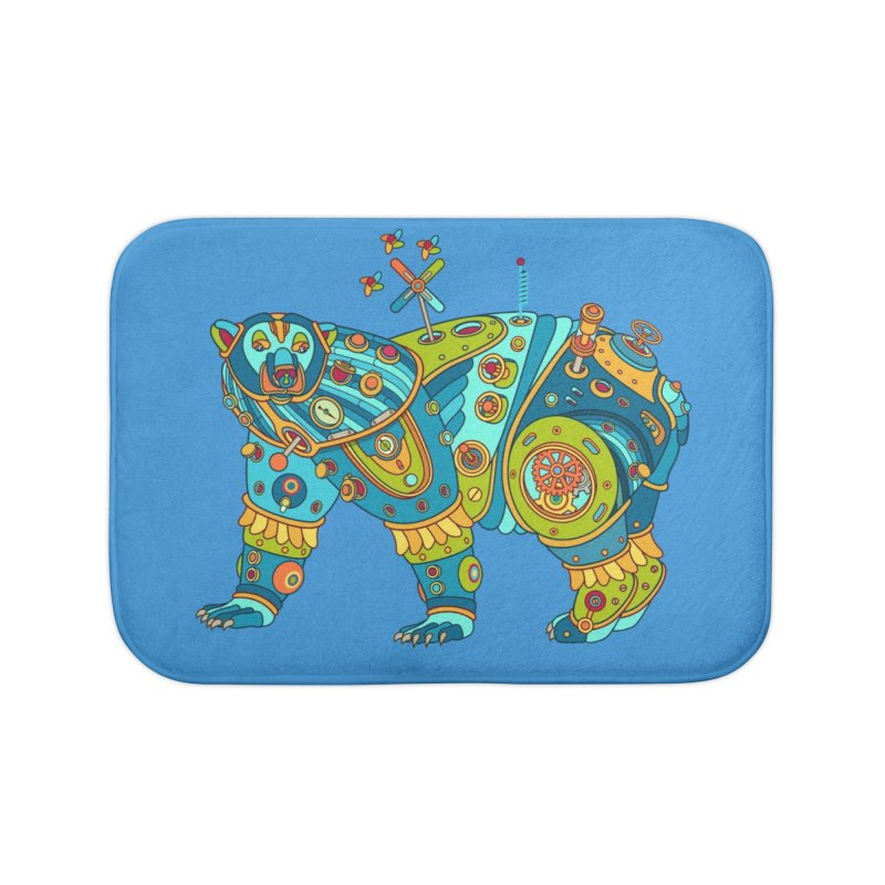 Polar Bear, cool art from the AlphaPod Collection Home Bath Mat by AlphaPod