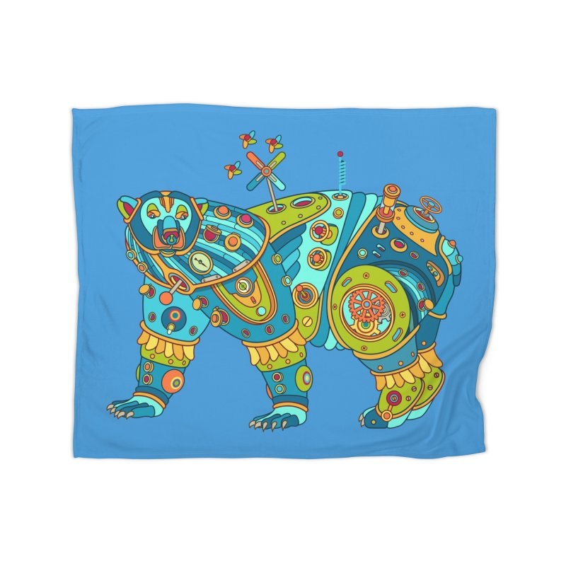 Polar Bear, cool art from the AlphaPod Collection Home Blanket by AlphaPod