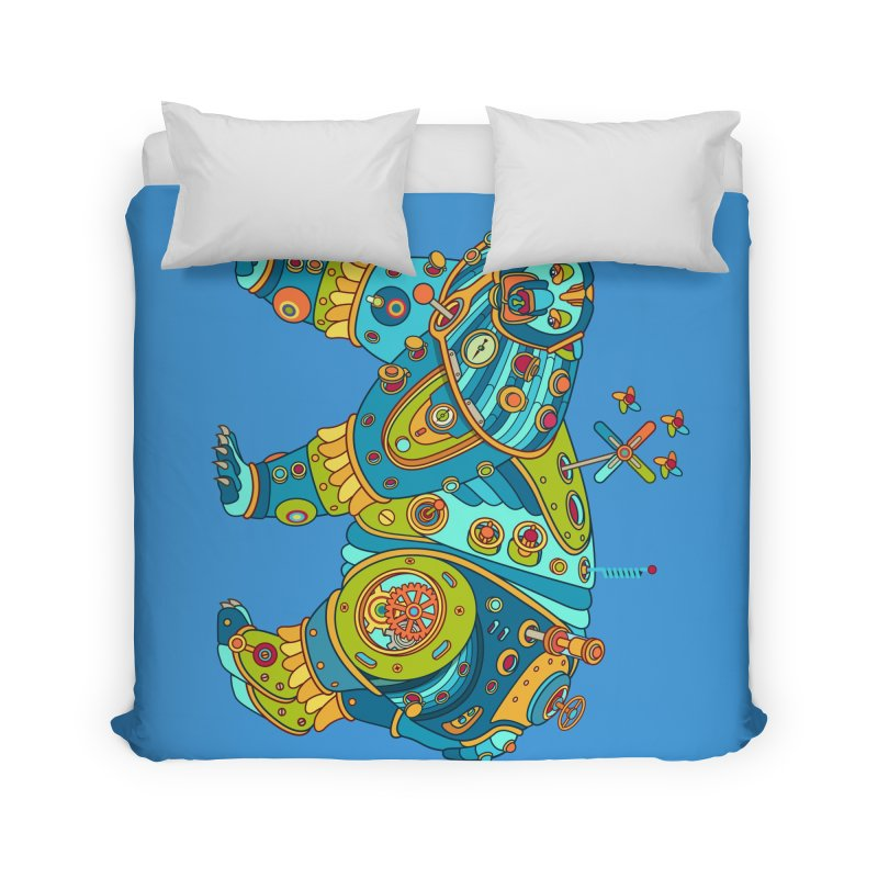 Polar Bear, cool art from the AlphaPod Collection Home Duvet by AlphaPod