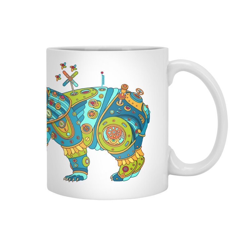 Polar Bear, cool art from the AlphaPod Collection Accessories Mug by AlphaPod