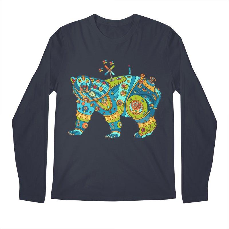 Polar Bear, cool art from the AlphaPod Collection Men's Longsleeve T-Shirt by AlphaPod