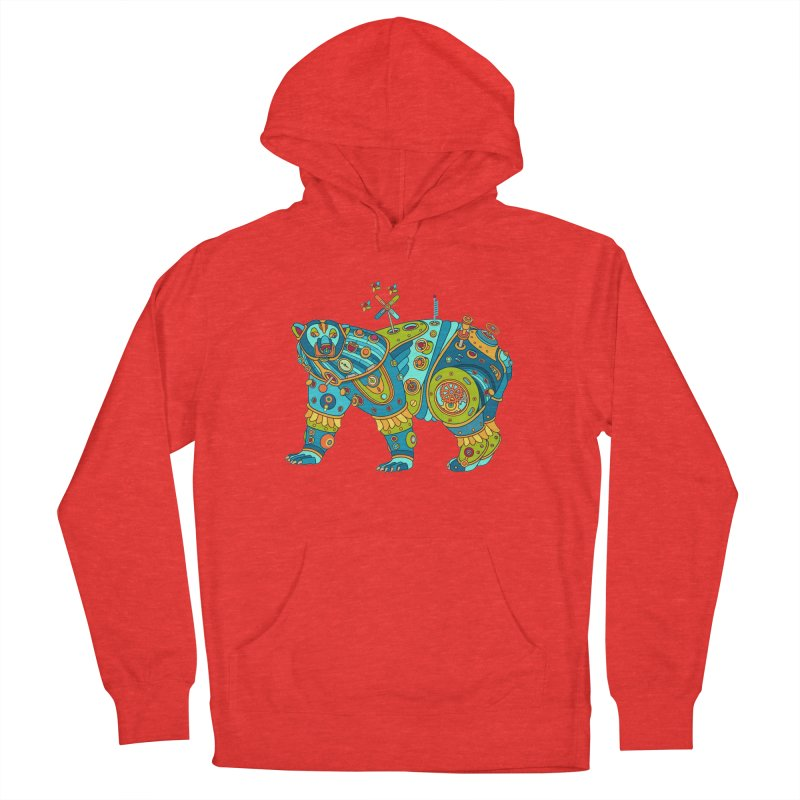 Polar Bear, cool art from the AlphaPod Collection Men's Pullover Hoody by AlphaPod
