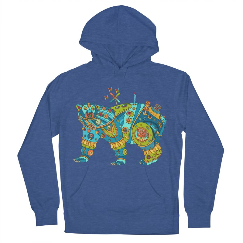 Polar Bear, cool art from the AlphaPod Collection Women's French Terry Pullover Hoody by AlphaPod
