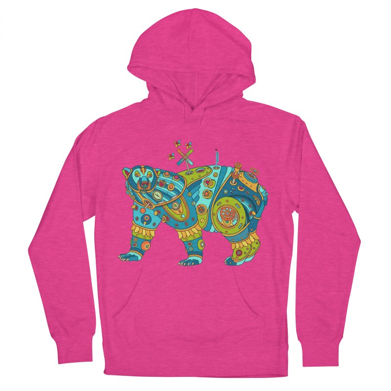 Polar Bear, cool art from the AlphaPod Collection Women's Pullover Hoody by AlphaPod
