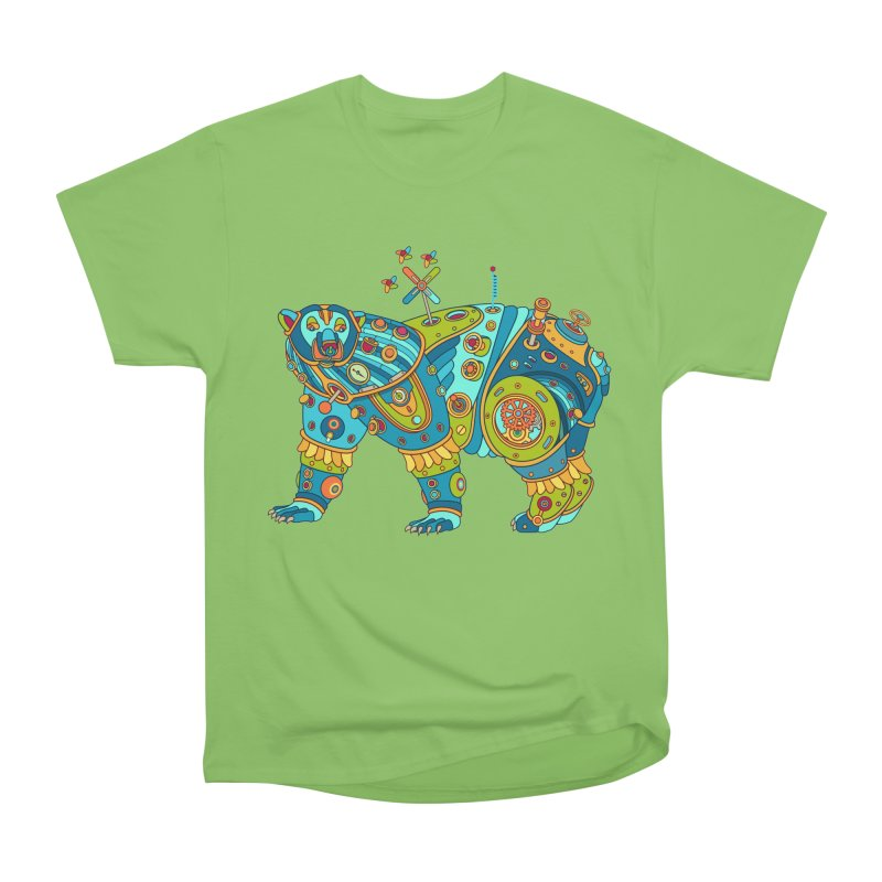 Polar Bear, cool art from the AlphaPod Collection Men's Heavyweight T-Shirt by AlphaPod