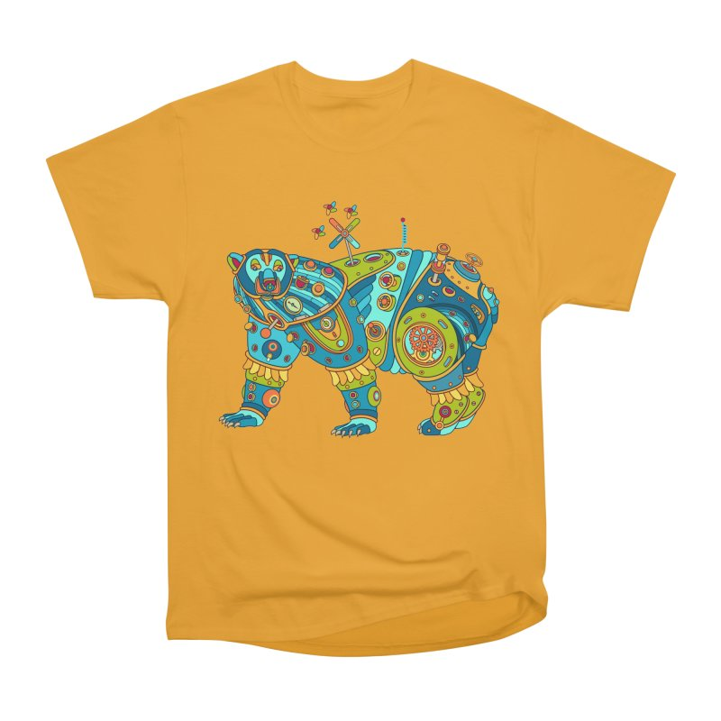Polar Bear, cool art from the AlphaPod Collection Men's Heavyweight T-Shirt by AlphaPod