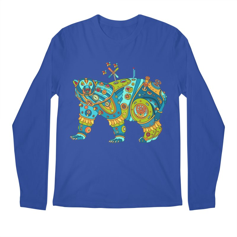 Polar Bear, cool art from the AlphaPod Collection Men's Longsleeve T-Shirt by AlphaPod